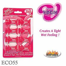 Liquid Virgin, Vaginal Tightening Lubricant & Contraction Lube, 8X Pillow Pack