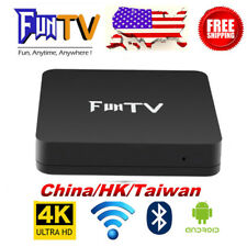 2018 New Unblock 2nd FUNTV TVBox Chinese HK Taiwan live TV and VOD HD Adult TV