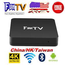 2018 FUNTV TVBox 最新藍牙電視盒FUN Unblock Chinese HK/China Adult Channel 4K IPTV中港台/成人