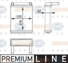 8FH 351 312-521 Hella intercambiador de calor calefacción de interiores Trasero