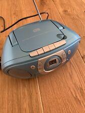 SOUNDMASTER SCD51000 mit CD, Kassettendeck Radiorecorder, Blau