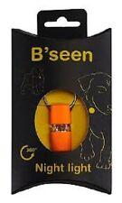 B'Seen 360 Collier Lumière pour chiens - Orange, envoi rapide