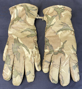 British Military MTP Leather Combat Gloves