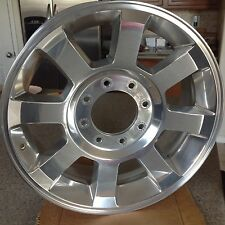"2008-2010 Ford F250 350 SD *KING RANCH* 8 Spoke Polished Aluminum Wheel 20""x8"""
