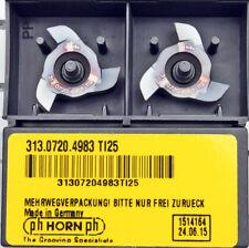AKKO Stechhalter für Wendeplatten Typ HORN S312. 1616 Rechtsausführung