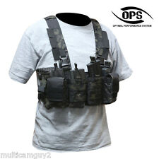 OPS / UR-TACTICAL EASY CHEST RIG (LIGHT-WEIGHT COMBAT RIG) CRYE MULTICAM BLACK