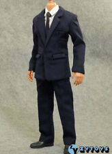 "ZYTOYS 1/6 Male Cloth Suit Blue Business Set For 12"" Doll Figure Body"