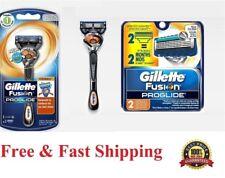 *3 Proglide FLEX BALL Gillette FUSION Manual Razor Blade Cartridge Refill Shaver
