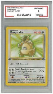 1999 Pokémon: Jungle KANGASKAN #21/64 1st Edition ~ BSG 8 NMT-MINT