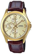 Relojes de pulsera Casio de piel acero inoxidable