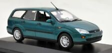 Ford Focus Turnier 5 türer 1999-2001 Modellauto grün metallic Minichamps 1:43Neu