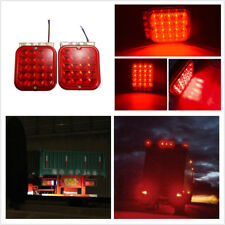 "2x 4.5"" LED Car Truck Tail Light Kit Brake Turn Sealed Waterproof Signal Utility"