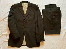 Hugo Boss Rossellini Movie Pure Wool Brown Suit UK 36R Jkt 32R Trousers