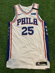 Ben Simmons Philadelphia 76ers Player Team Issued Jersey 19-20 LOA