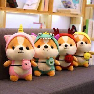 1Pc Transformed Squirrel Plush Toy Doll Elastic Plush Cloth Doll Pillow Child