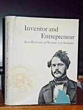 Inventor & Entrepreneur: Memoir Werner von Siemens, Electrical Communications Co