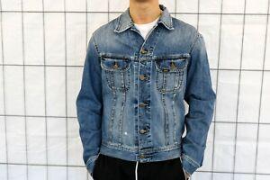 Lee vintage Jeansjacke Gr. L Blue washed used - jeans jacket JJ5