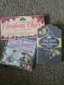 Craftwork Cards Paper Toppers And Candi Embellishments