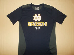 UNDER ARMOUR NCAA NOTRE DAME IRISH SHORT SLEEVE T-SHIRT BOYS MEDIUM EXCELLENT