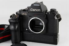 Canon New F-1 F1 35mm AE Finder w/ Power Winder From Japan #152 【EXC+++++】
