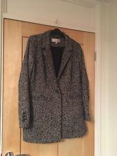 Gharani Strok Grey Jacket Size L Fit 12 - 14