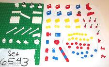 LEGO set 6543 XTRA 2432 3937 3957 2921 4079 4599 3821 4213 4315 4070 3829 3062