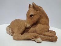 "Vintage 1981 SANDICAST Foal Colt Horse Figurine By Artist Sandra Brue 7"""