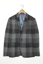"*BRAND NEW* Ted Baker London Mens Statement Checked ""CLARK"" Wool Jacket SMALL"