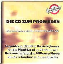 1999 Teaser CD: Liquido UB40 Meat Loaf Keziah Jones