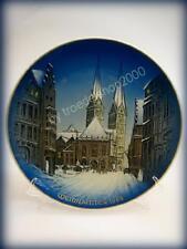3988) alter Rosenthal Porzellan Weihnachtsteller BREMEN Weihnachten 1968 21,5cm