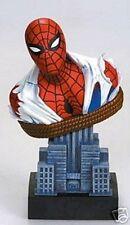 AMAZING SPIDER-MAN BUST Statue John Romita Sr.  New York Cityscape  Marvel 2002
