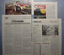 MOTOSPRINT982-PROVA / TEST-1982- APRILIA 250 RC - 4 fogli