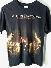 Within Temptation (band) Black Symphony T-Shirt Adult S (34-36)
