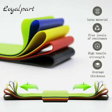 5 PCS Resistance Yoga Pull Bands Gym Loop Up Exercise Fitness Strength Training