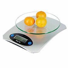 5kg vetro digitale elettronica da cucina cibo Pacco Postale Pesatura Bilance