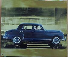 Altes Blechschild Oldtiimer Mercedes Ponton Reklame Werbung gebraucht used