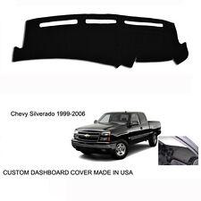 New Chevy Silverado 1500 2500 Truck Custom Black Dashboard Dash Cover 1999-2006