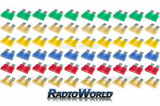 120 Assorted Car Automotive Standard Blade Fuse Fuses 5 10 15 20 25 30 AMP