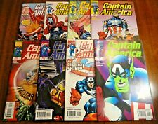 Captain America V3 #6,9,10,12,17,22,24,25 Lot of 8 Falcon 1st Pr Marvel Disney +