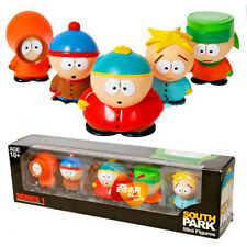 "LOT OF 5 SOUTH PARK SERIES 1 MINI SET ACTION FIGURES 2""-3"" TOY CAKE DECORATIONS"