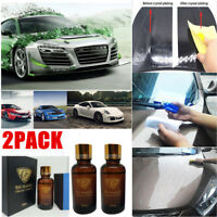 2PACK NANO 9H SUPER CERAMIC CAR COATING WAX POLISHING CARE