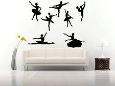 Wall Room Decor Art Vinyl Sticker Mural Decal Ballet Dance Women Ballerina FI339