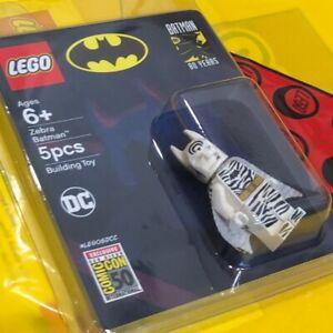 LEGO 2019 SDCC Zebra Batman Minifigure SAN DIEGO COMIC CON Limited 1500