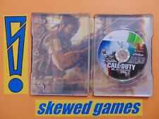 Call of Duty Black Ops Hardened Edition - Steelbook - XBox 360 Microsoft