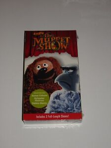 BEST OF THE MUPPET SHOW VHS BRAND NEW SEALED VOL 9 SYLVESTER STALLONE HARRY