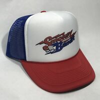 Smokey And The Bandit Trucker Hat Burt Reynolds Vintage Movie Promo Snapback RWB