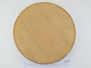 "One Quarter Sawn English Oak wood turning bowl blank. 330 x 60mm (13 x 2 1/4"")"