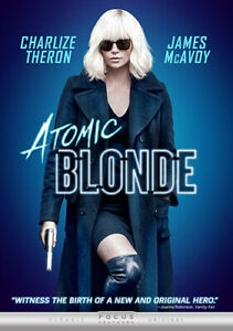 Atomic Blonde (DVD, 2017)Charlize Theron James McAvoy NEW
