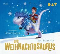 TOM FLETCHER - DER WEIHNACHTOSAURUS  4 CD NEW
