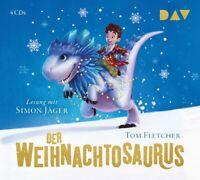 TOM FLETCHER - DER WEIHNACHTOSAURUS  4 CD NEW